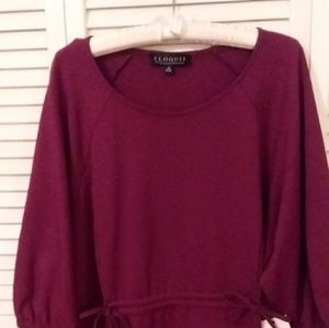 3/4 sleeve blouse, New w/o tags.